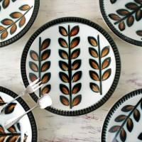 懐かしく、美しいヴィンテージ品。ベルギーのBOCH(ボッホ)の食器ってこんなに素敵♡