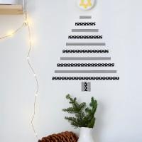 いつものツリーと全然違う!おしゃれな手作りクリスマスツリーのアイデア15選♪