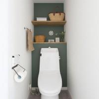 努めて簡単に!おしゃれトイレを作る収納&小物の早業インテリアテクニック♪