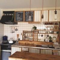真似できるかも!?Roomclipに投稿された自慢のキッチンインテリア実例集!