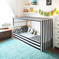 着せ替えできるベッド!イケアの『KURA』で子ども部屋のメインインテリアを作ろう♪