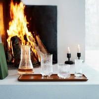 冬のテーブルコーディネイトにふさわしいガラス食器。イッタラのウルティマツーレをシリーズで揃えよう♪