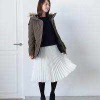 しっとりクラシカルに♡冬はプリーツスカートコーデで女性らしいスタイルに挑戦