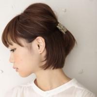 簡単にイメージチェンジ♪大人かわいいボブのヘアアレンジ集♡