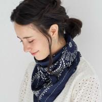 使い方自由自在♡アクセサリー級スカーフでいつものコーデに華を添える♪