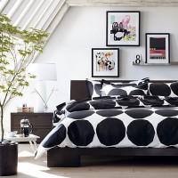 春の気分にぴったり♪マリメッコで作る、お気に入りの寝室の風景♡