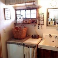 洗面所をウキウキするインテリアに☆生活感がでやすい洗面所をお洒落にしたい!