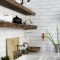 reclaimed-wood-shelves-kitchen