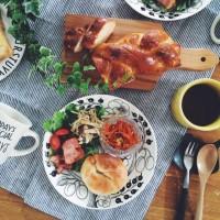 北欧キッチンインテリア★お気に入りの器で料理も楽しく!