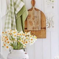 春らしいお部屋作りに♡グリーンカラーを取り入れたシャビーシックインテリア実例集