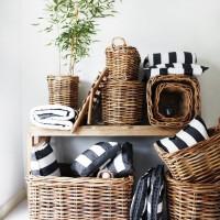 Love baskets!飾りながら収納する、便利で素敵なバスケットコーディネート♡