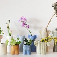 活けやすく可愛い♡北欧の人気陶芸作家【リサ・ラーソン】ワードロープシリーズの花瓶