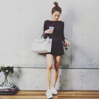ナチュラルな大人女子【CANDIのデザイナーNATSUさん】の素敵なファッションスタイル