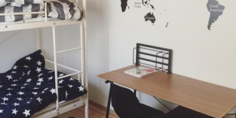 小さな空間を有効活用☆子供部屋の2段ベット配置例13選