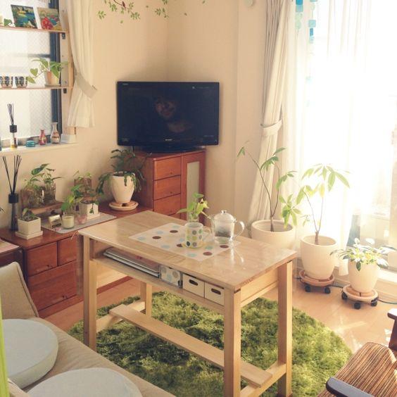 一人暮らしのインテリアとコーディネートの決め方: 6畳インテリアレイアウト集☆お部屋の過ごし方別に7パターンご