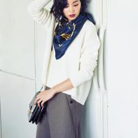 コーディネートのアクセントに♡一気にお洒落に見えちゃうスカーフスタイルが気になる!