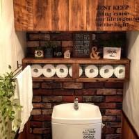 狭くても快適に!トイレのおしゃれ収納アイデア36選♪