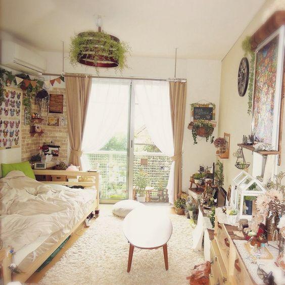 一人暮らしのインテリアとコーディネートの決め方: 可愛いお部屋で女子力アップ♡女子部屋を可愛く作る9の