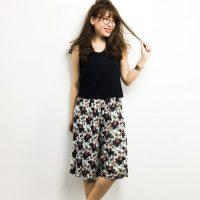 ガーリーになり過ぎないように☆大人女子の花柄アイテムコーデ集♪
