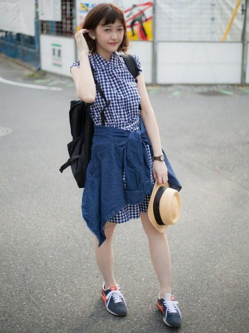 春夏シーズンといえば爽やかで女子力アップなシャツワンピースコーディネート♪
