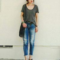 大人女子もダメージデニムを履きたい!上品見えダメージデニムの選び方♡