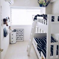 小さな空間を有効活用☆子供部屋の2段ベット配置例11選