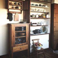 見せる収納☆隠す収納☆動きやすいキッチンを作るアイデア収納をご紹介します♪
