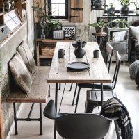 古材や足場板でオリジナルのダイニングテーブルをDIYしませんか?