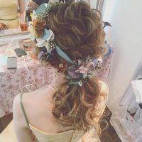 ジューンブライドに♡カラードレスに合わせたいヘアスタイルまとめ♪