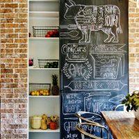 アイデアで幅広く使える!楽しみながら色んな場所で黒板インテリア☆