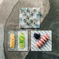 ガラスの魅力を再発見!色と形の重なりが楽しい八木麻子さんの作品たち。
