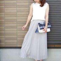 夏のユニクロスタイルは『ちょっぴり綺麗め』を意識してプチプラ格上げコーデ♡