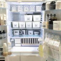 冷蔵庫の中まで!?おしゃれで素敵な冷蔵庫内の収納アイデア実例♪