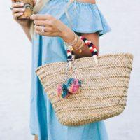 お洒落に差がつく!?夏らしさを感じるデザインバッグで大人可愛いスタイル特集!!