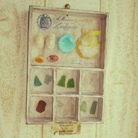 海から届く贈り物。いろんな形のシーグラスをお家に飾って涼しもう♪