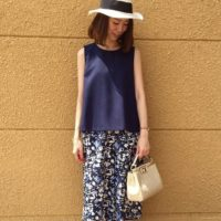 夏スタイルは、決まってボタニカル柄♡オシャレにシーズン感はとっても大事!!