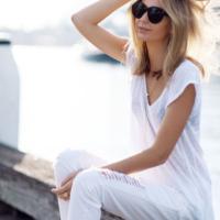 夏はやっぱり白Tシャツが使える!♡ワンパターンにならないためのコーデ術