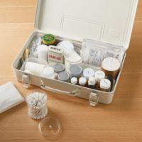 ニュアンスのある白が素敵♡無印良品の「スチール工具箱」は収納アイテムとして大人気!