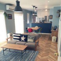 爽やかで涼しげな空間に♡ニュアンスカラーのブルーが素敵なお部屋15選