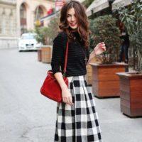 素敵な定番柄☆ギンガムチェックのスカートで大人ガーリースタイルはいかが?