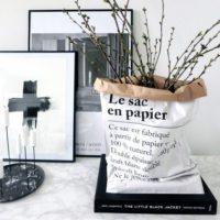 パリ発の素敵な収納アイテム「BE POLES(ビーポール)」のペーパーバッグをご紹介♪