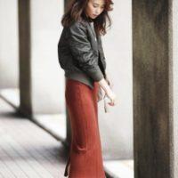 プチプラに見えない!ユニクロの「メリノブレンドリブスカート」で作る大人女子コーデ集♪