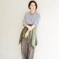 「柄x柄」が面白い☆トレンド、タッキーコーデで作るスタイル集♡