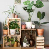 木箱を取り入れる☆ウッドボックスを使ってお部屋を素敵に飾るアイディア集♪