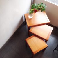 みんなが集まる季節に☆収納できるテーブル「ネストテーブル」特集