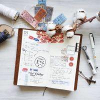 スケジュール管理以外にも活用したい、手帳をかわいく活用するアイデア術☆