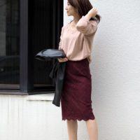 秋にもピンクを着たい!大人可愛いピンクニットを使ったコーデ特集