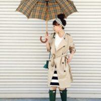 ちょっぴりイヤな雨の日も。お気に入りの傘でコーデして楽しく過ごそう♡
