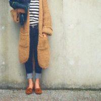 秋にピッタリなモカシンコーデ☆カラーが違うだけで印象ががらり!