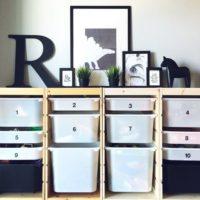 IKEAの人気収納棚☆「トロファスト」を使った素敵なインテリア収納例をご紹介